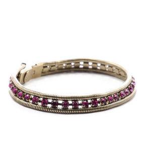 LOREN HOPE Swarovsky Mini Bracelet
